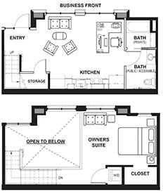 Business Loft Example Floor Plan