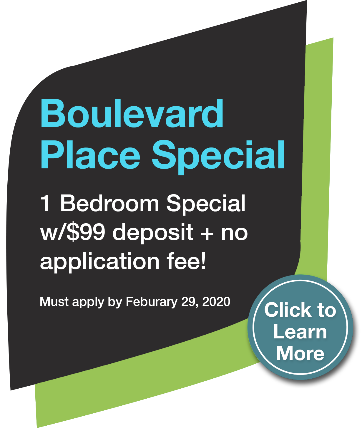 Boulevard Place Special Offer